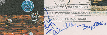 Apollo 11 flown cover valued at more than $17,000
