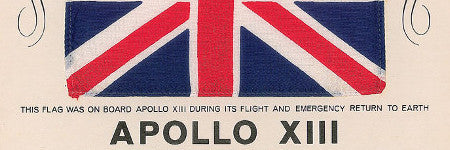 Apollo 13 flown UK flag among highlights of space sale