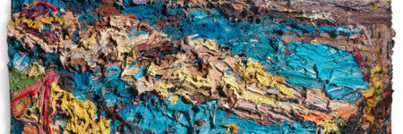 Frank Auerbach's EOW painting realises $2.9m at Bonhams