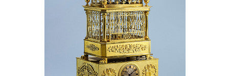 Swiss singing bird automaton will sell at Sotheby's