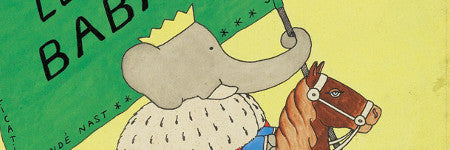 Jean de Brunhoff's Babar cover could sell for $30,000
