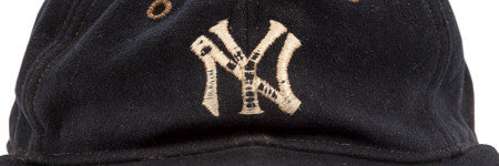 Babe Ruth Yankees cap to lead at Goldin Auctions