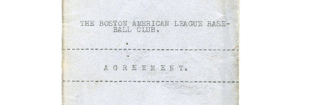 Babe Ruth's transfer contract realises $2.3m