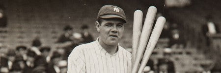 1920s Babe Ruth photograph to auction at Heritage