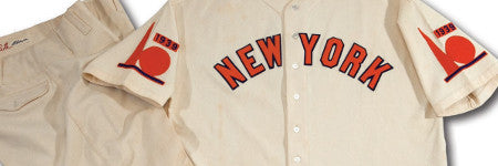 Babe Ruth's World's Fair uniform offered at SCP Auctions
