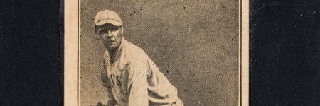 Babe Ruth's 1916 rookie card valued at $300,000+