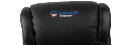 Barack Obama's tour bus chairs sell for $28,500