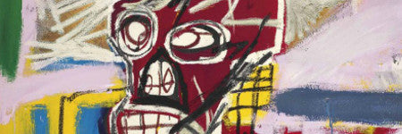 Basquiat's Red Skull painting to sell at Christie's
