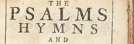 Bay Psalm book seventh edition valued at $40,000