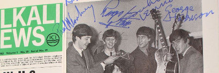 Forged Beatles signatures sold for $2,500