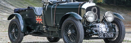 Bentley Blower racing car offered at Historics