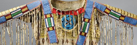 Blackfoot Indian beaded shirt valued at up to $175,000