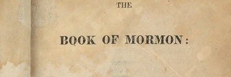 Book of Mormon first edition could make up to $40,000