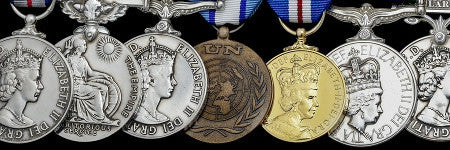 British Cold War spy medals offered at Spink