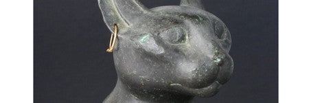 Ancient Egyptian cat statuette realises 420% increase on estimate