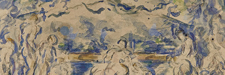 Paul Cezanne watercolour to star in Actual Size sale