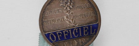 Chamonix 1924 official's medal to lead Olympic sale