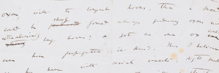 Charles Darwin handwritten manuscript page valued at $300,000