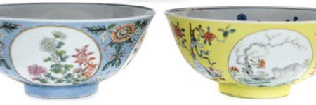 Three Chinese bowl set sells for shock $84,000