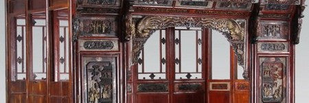 Chinese gilt wedding bed among top lots in Atlanta sale
