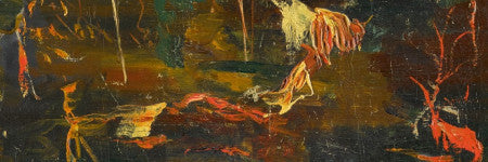 Winston Churchill's final painting to auction
