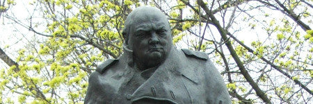 Bronze Winston Churchill cast expected to make $112,000