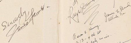 Martin Luther King signed book to auction for $8,000?