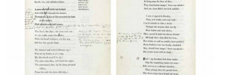 Samuel Taylor Coleridge's Sibylline Leaves to auction in December