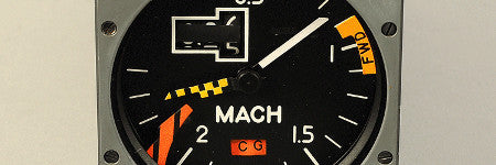 Concorde Machmeter to auction in Toulouse
