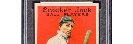 Cracker Jack Ty Cobb offered at Heritage Auctions