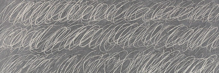 Cy Twombly Blackboard painting sets new artist record