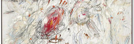 Cy Twombly's Leda and the Swan leads art sale
