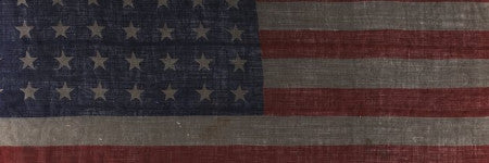 D-day flown American flag headlines militaria sale