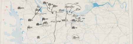 D-Day landing site map will sell in June 11 auction