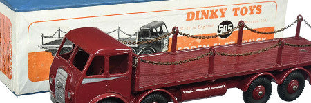 Dinky Foden Flat Truck to beat its previous record?