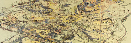 Walt Disney's Disneyland map realises $708,000