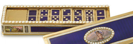 Queen Victoria's domino box offered at Sotheby's