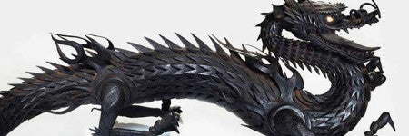 Japanese jizai okimono dragon makes $100,000