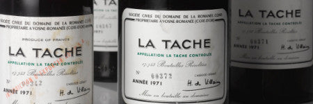 1971 DRC La Tache magnums to lead at Sotheby's