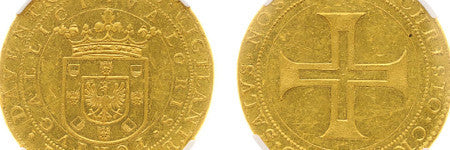 1640 10 dukat Portugaloser sets Dutch coin record