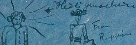Albert Einstein signed sketch to exceed $5,000?