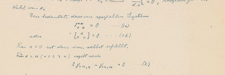 Albert Einstein manuscript to beat $50,000?