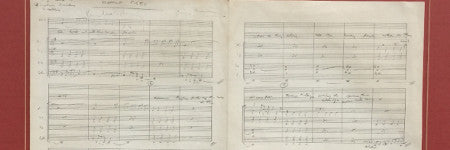 George Martin's Eleanor Rigby score to sell
