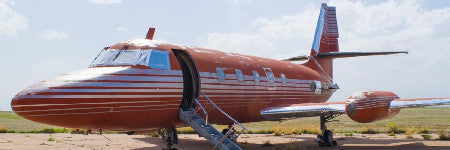 Elvis Presley's private jet to sell at GWS Auctions