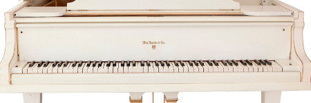 Elvis' white Knabe piano to exceed $600,000 at Heritage?