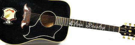 Elvis Presley's Gibson guitar to set new auction record?