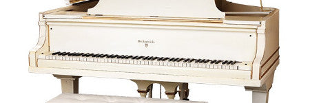 Elvis Presley's white piano sells for $375,000