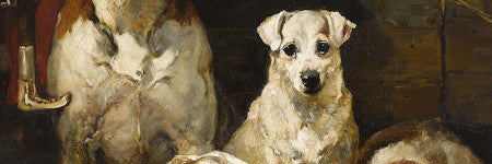 John Emms' Hounds and Terriers to lead sale of dog art