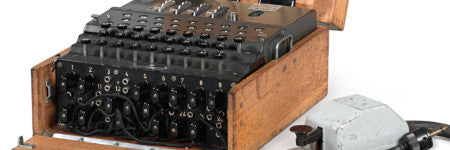 German M4 Enigma machine offered at Sotheby's