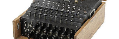 Rare German enigma machine to make $107,500?